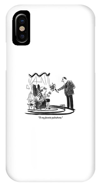 To My Favorite Palindrome IPhone Case