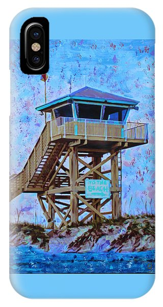 IPhone Case featuring the painting To The Beach by Deborah Boyd