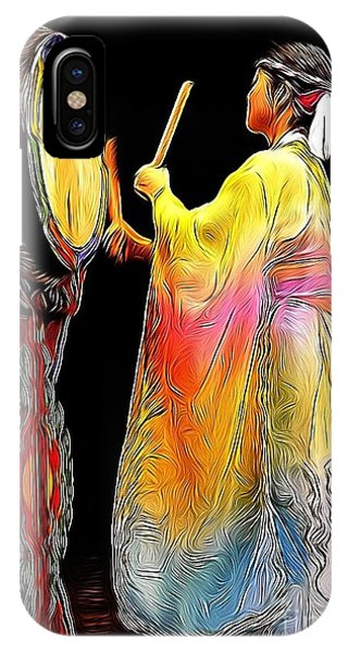 Beat Of The Drum IPhone Case