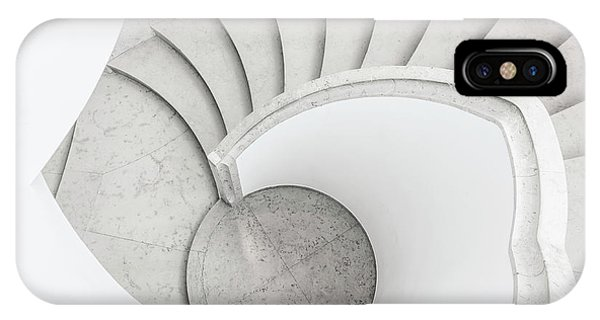 Staircase iPhone Case - To The Circle by Greetje Van Son