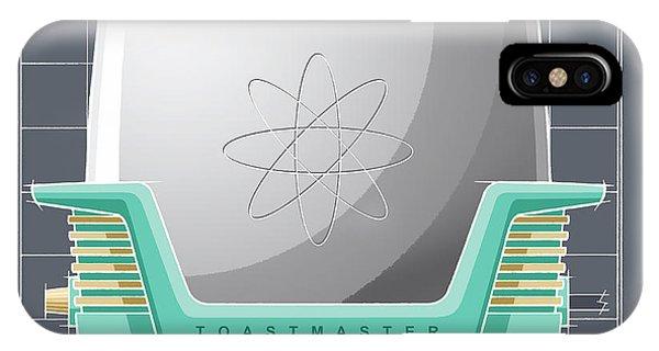 Toastmaster - Aqua IPhone Case