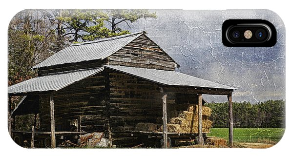 Tobacco Barn In North Carolina IPhone Case