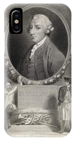 Tobias Smollett (1721 - 1771) - Phone Case by Mary Evans Picture Library