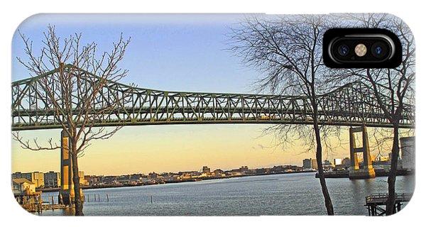 iPhone Case - Tobin Bridge by Barbara McDevitt