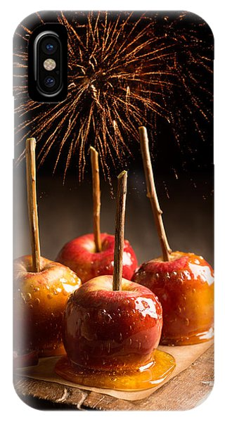 Fireworks iPhone Case - Toffee Apples Group by Amanda Elwell