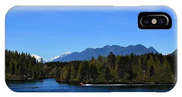 Tofino Bc Clayoquot Sound Browning Passage IPhone Case