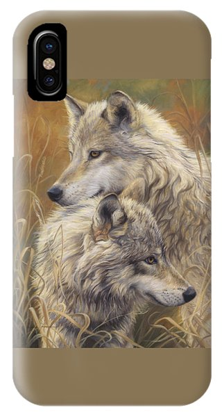 Wildlife iPhone Case - Together by Lucie Bilodeau