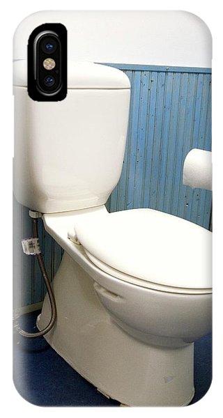 Toilet iPhone Case - Toilet by Jim West