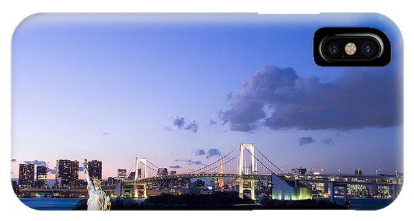 Odaiba iPhone Case - Tokyo Bay by Simon Zenger