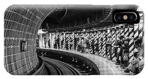 Passenger Train iPhone Case - Tokyo Metro by Carlos_grury_santos