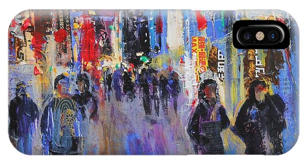 Neon iPhone Case - Tokyo Night by Sylvia Paul