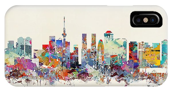Tokyo Skyine IPhone Case