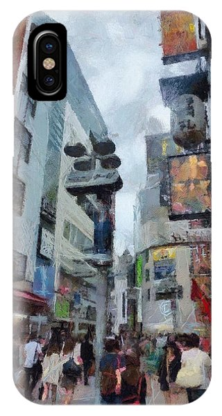 Tokyo Street Phone Case by Chris Coyle
