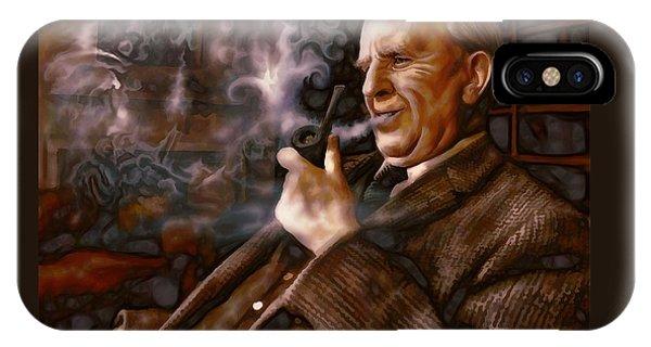 Tolkien Daydreams IPhone Case