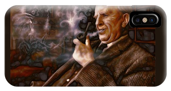 Tolkien Daydreams IPhone Case