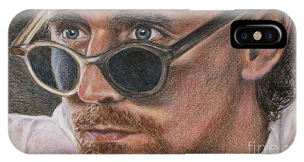 Tom Hiddleston Portrait IPhone Case