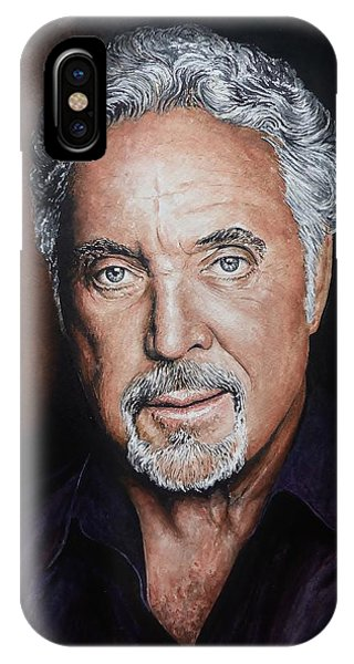 Tom Jones The Voice IPhone Case