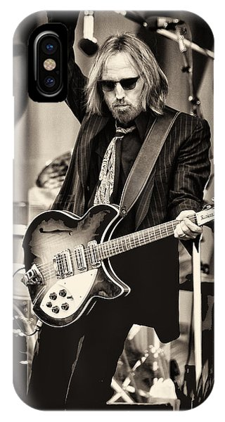 Rock And Roll iPhone Case - Tom Petty by Marc Malin