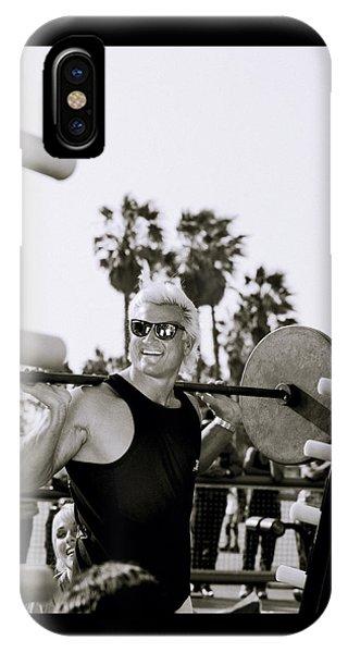 Tom Platz In Los Angeles IPhone Case
