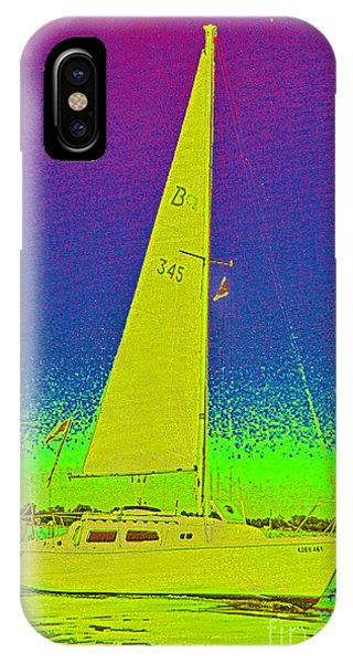 Tom Ray's Sailboat IPhone Case