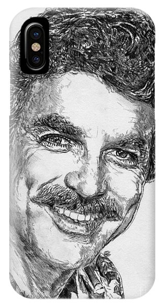 iPhone Case - Tom Selleck In 1984 by J McCombie