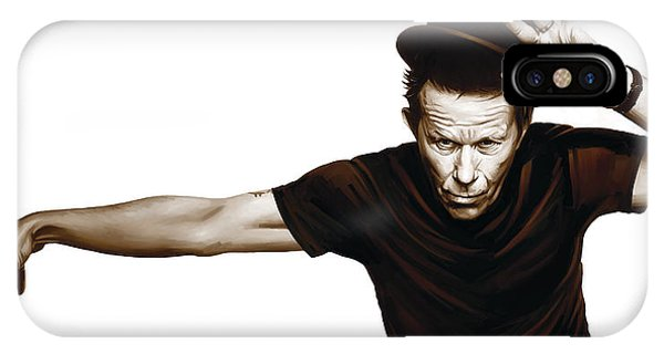 Tom Waits Artwork  4 IPhone Case
