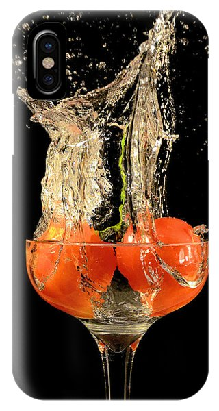 Tomato Splash IPhone Case