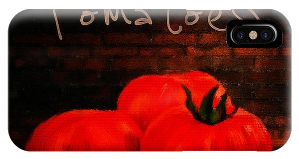 Ingredient iPhone Case - Tomatoes II by Lourry Legarde