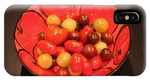 Tomatoes In Bowl IPhone Case