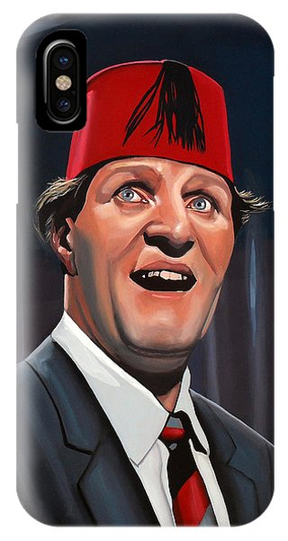 Magician iPhone X / XS Case - Tommy Cooper by Paul Meijering