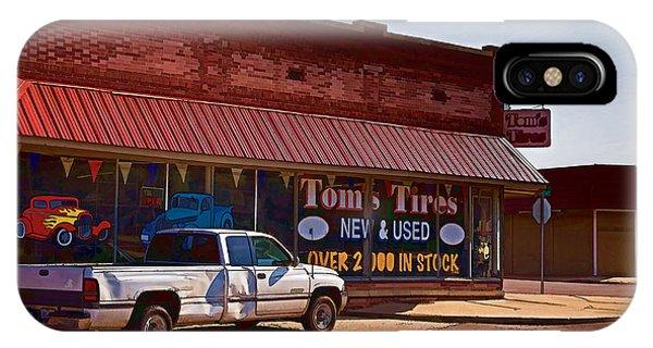 Tom's Tires IPhone Case