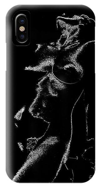 Tone-line Form IPhone Case