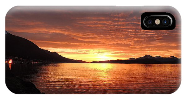 Tongass Narrows Sunrise On 12/12/12 IPhone Case
