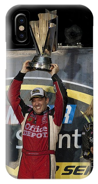 Tony Stewart Cup Champ 3 IPhone Case