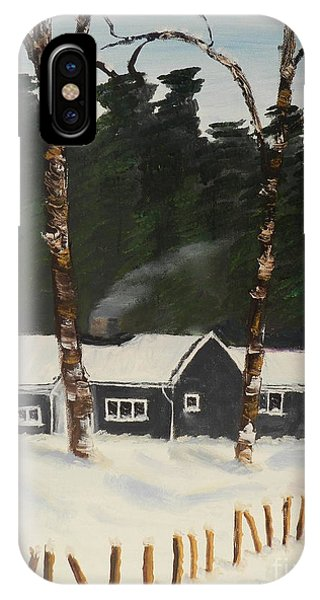 Tonys House In Sweden IPhone Case