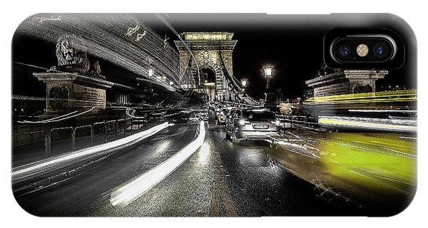Long Exposure iPhone Case - Too Much Traffic by Carmine Chiriac??