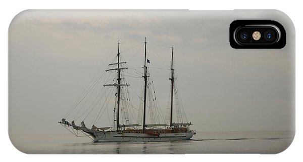 Topsail Schooner Mystic IPhone Case