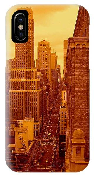Top Of Manhattan IPhone Case