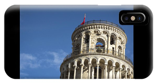Top Of The Leaning Tower Of Pisa IPhone Case