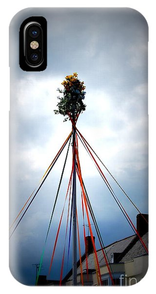 Top Of The Maypole IPhone Case