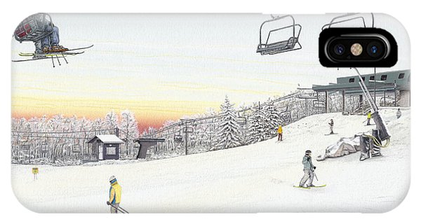 Top Of The Mountain At Seven Springs IPhone Case