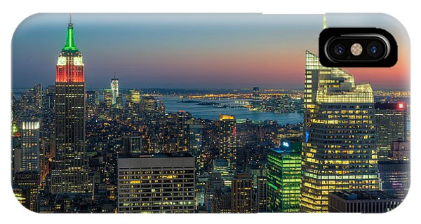 Top Of The Rock Twilight I IPhone Case