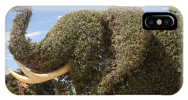 Topiary Elephant IPhone Case