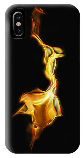 Torch In The Wind IPhone Case
