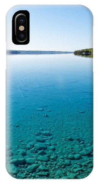 Torch Lake IPhone Case