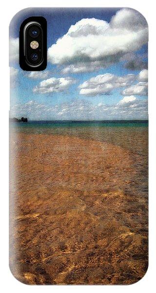 Torch Lake Sandbar 2.0 IPhone Case