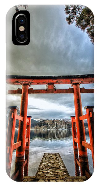 Tori Gate IPhone Case