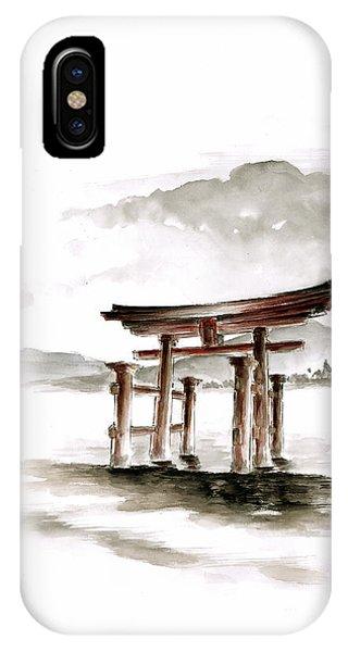Torii Gate IPhone Case