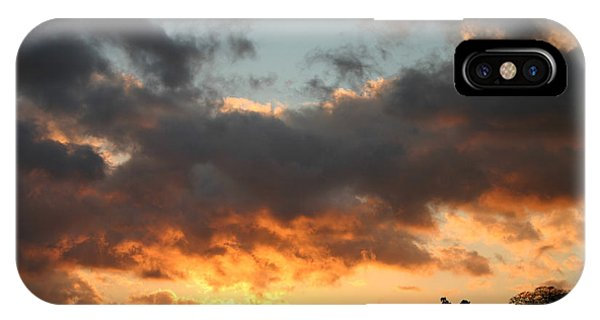 Tormented Sky IPhone Case