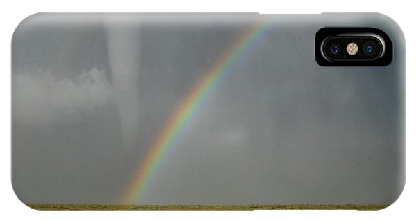 Tornado And The Rainbow IPhone Case